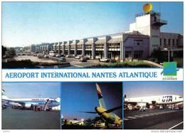 Carte Postale 44. Nantes. Aéroport International Trés Beau Plan - Nantes