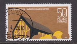 ISLANDIA 2014 - Sello Matasellado - Usados