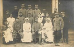 CARTE PHOTO HOPITAL GUERRE 14/18 - Guerra 1914-18