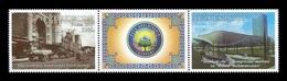 Uzbekistan 2020 Mih. 1407/08 Tashkent City: Yesterday And Today MNH ** - Uzbekistán