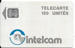 CARTE PUCE--CAMEROUN-100U-INTELCAM-V°5Pe23771-Utilisé -TBE-RARE - Kameroen