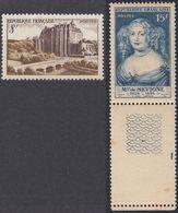 FRANCE - 1950 - Serie Completa Nuova MNH: Yvert 873/874, Due Valori, Come Da Immagine. - Francia