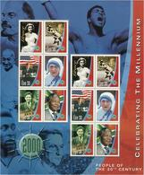 Irland 1999/2000 Jahrtausendwende Persönlichkeiten/Ereignisse Des 20. Jahrhundert 2 Kleinbogen - 1949-... Repubblica D'Irlanda