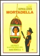 Carte Postale Illustration : Savignac (cinéma Affiche Film) Mortadella (Sophia Loren) - Savignac