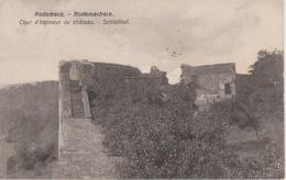 57 - RODEMACK - COUR D'HONNEUR DU CHATEAU - Francia