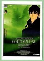 "Carte Postale - Corto Maltese ""Les Celtiques"" (cinéma Affiche Film) Illustration : Hugo Pratt - Plakate Auf Karten"