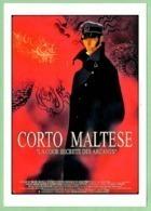 "Carte Postale - Corto Maltese ""La Cour Secrète Des Arcanes"" (cinéma Affiche Film) Illustration : Hugo Pratt - Plakate Auf Karten"