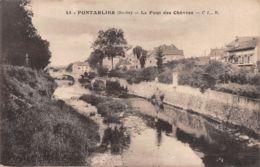 25-PONTARLIER-N°T2534-C/0389 - Pontarlier