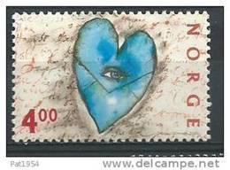 Norvège 2000  N°1294  Timbre Neuf** Saint Valentin - Unused Stamps