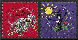 France 2010 N° 4431/4432 Neufs St Valentin Lanvin à La Faciale - Unused Stamps