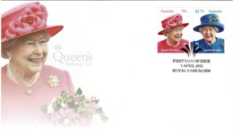 Australia 2015 Queen's Birthday FDC - Premiers Jours (FDC)