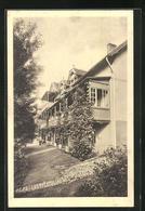 AK Gernrode / Harz, Hotel Hagenthal, Villa Waldfrieden - Ohne Zuordnung