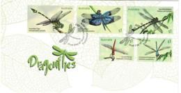 Australia 2017 Dragonflies FDC - Premiers Jours (FDC)