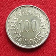 Finland 100 Markkaa 1956  Finlande Finlanda Finlandia - Finlande