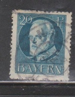 BAVARIA Scott # 102 Used - Bavaria