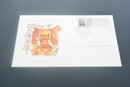 FC744 - FDC Stamps From All Countires - 1977 - Nederland - Netehrlands Fragment Uit De Delftse Bijbel - FDC