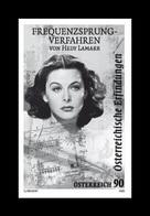 Austria 2020 Mih. 3501 Cinema. Actress And Inventor Hedy Lamarr (black Proof) MNH ** - Essais & Réimpressions