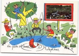 Thorenc. Thorene. La Peche Est Bonne.... Ecrite 1968 - Other Municipalities