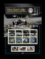 Isle Of Man 2020 Mih. 2551/58 Exploring The Moon And Space (M/S) MNH ** - Man (Insel)