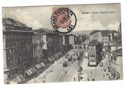 4089 - MILANO CORSO BUENOS AIRES ANIMATA TRAM 1916 - Milano