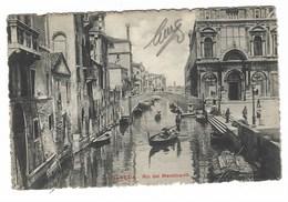 4090 - VENEZIA RIO DEI MENDICANTI ANIMATA 1910 CIRCA - Venezia