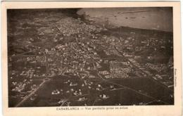 3TA 1O49 CPA - CASABLANCA - VUE PARTIELLE PRISE EN AVION - Casablanca