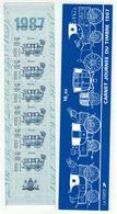 France // 1987 // Bande De Carnet No.BC 2469A Neuf** Non Plié,Journée Du Timbre 1987 - Dia Del Sello