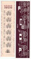 France // 1988 // Bande De Carnet No.BC 2526A Neuf** Non Plié, Journée Du Timbre 1988 - Dia Del Sello