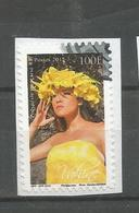 Timbre Du Carnet  Vahinés  (clascamerou17) - Polynésie Française