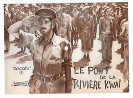 Musicarte La Carte Qui Chante Comme Un 45T. Le Pont De La Rivière Kwai - Formats Spéciaux