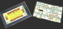 """Domino Des Fleurs """" Pompadour """" Vers 1900' """" Dominos Parisiens """"  Magasin Au Printemps Paris - Puzzles"""