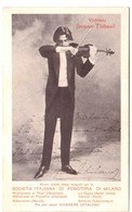 Violonista Jacques Thibaud - Musicien - Violoniste - Violon - Singers & Musicians