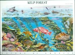 UNITED STATES OF AMERICA 2009 KELP FOREST PANE OF 10** (MNH) - Nuovi
