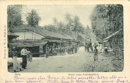 Galle Street Scene Bambalapitya RV - Sri Lanka (Ceylon)