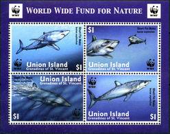 UNION ISLAND 2002 WWF SHARK - W.W.F.