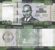 Liberia 2016 - 100 Dollars - Pick 35 UNC - Liberia