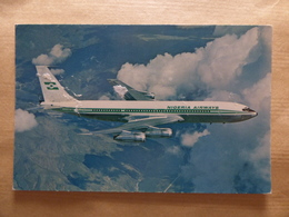 AIRLINE ISSUE / CARTE COMPAGNIE     NIGERIA AIRWAYS  B 707  Carte Interessante Mais Abimee - 1946-....: Era Moderna