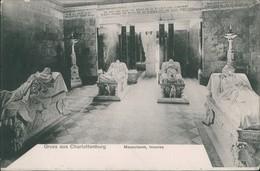 Ansichtskarte Charlottenburg-Berlin Inneres Mausoleum 1906  - Charlottenburg