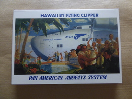 AIRLINE ISSUE / CARTE COMPAGNIE       PAN AMERICAN WORLD AIRWAYS     Carte Double - 1946-....: Era Moderna