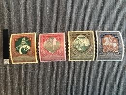 Timbres De Russie En MH, 1914-1916, Timbres De Bienfaisance YT 93-100 - Neufs