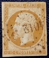 0207 - 13A - PC 4012 Salonique Turquie. Des Bureaux Français à L'étranger - 1853-1860 Napoleon III