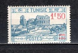 TUNISIE N° 140   NEUF SANS CHARNIERE COTE 0.95€  AMPHITHEATRE - Neufs