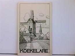 Künstler-AK Koekelare, Windmühle; Ca. 1915, WK 1; Belgien - Niederlande