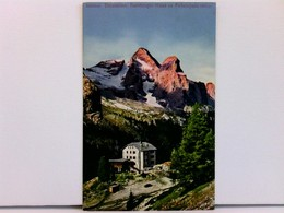 AK Bamberger-Haus Am Fedajapass 2029m; Südtirol, Dolomiten; Coloriert, 1911; Mit Hüttenstempel - Italia
