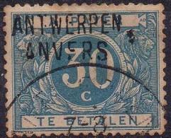 TX15A (oblitéré - Used) Griffe ANTWERPEN / ANVERS 1 (taches) - Stamps