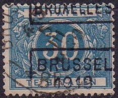 TX15A (oblitéré - Used) Griffe BRUSSEL 1919 BRUXELLES - Stamps
