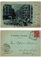 CPA NAPOLI Strada Toledo Ora Via Roma. ITALY (533806) - Napoli (Naples)