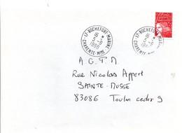 17 Rochefort-Marine 1998 Charente-Maritime - Agence Poste Navale - Marcofilie (Brieven)