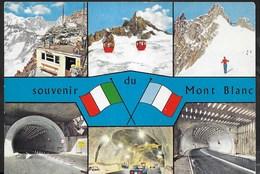 SOUVENIR DEL MONTE BIANCO - VIAGGIATA 1972 - Italy