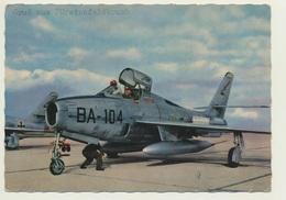 AK  Fürstenfeldbruck Kampfjet F 84 Vor Dem Start Deutsche Bundeswehr - Militari